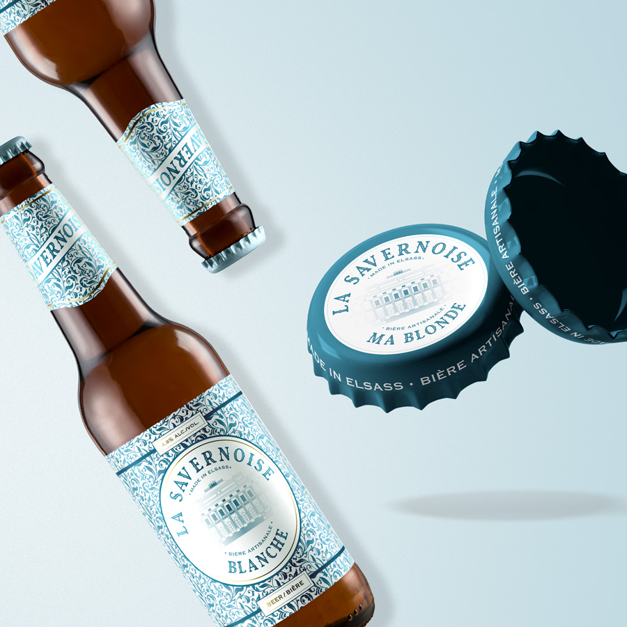 Packaging bière La Savernoise